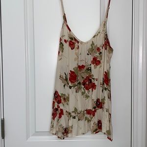 Volcom floral tank New with out tags